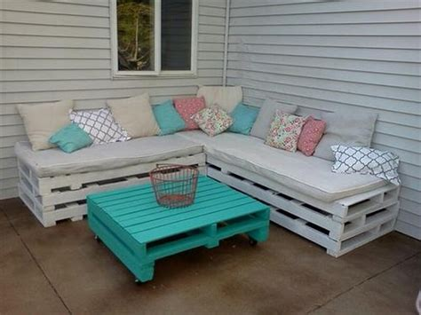 diy patio furniture wooden pallet outdoor furniture ideas recycled things
