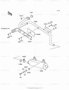 Kawasaki Atv 2003 Oem Parts Diagram For Muffler S