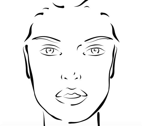 blank face templates furless cosmetics usa