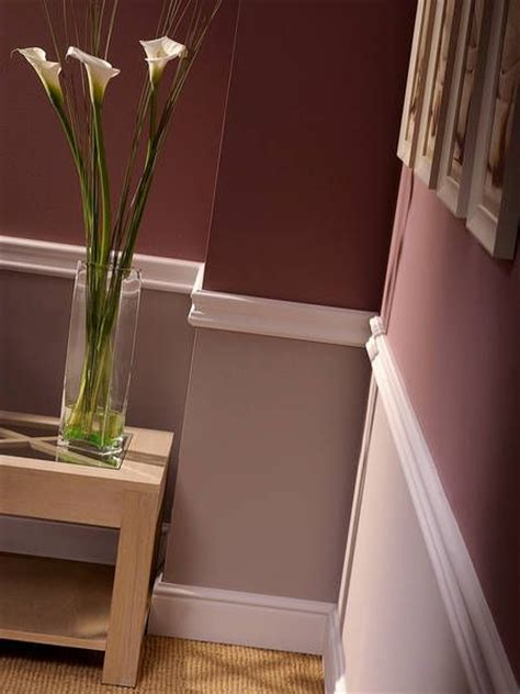 25+ Best Faux Chair Rail  Horizontal Wall Stripes Images
