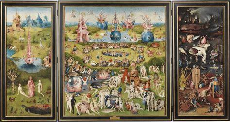 the garden of earthly delights see hieronymus bosch s devliish delights artnet news