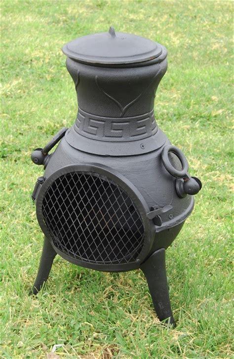 Best Fuel For A Chiminea by Ornate Multi Fuel Cast Iron Chimenea Savvysurf Co Uk
