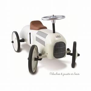 Retro Bebe Voiture : voiture porteur m tal nacr vintage jouet b b sign vilac ~ Teatrodelosmanantiales.com Idées de Décoration