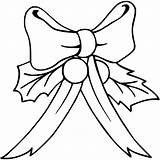 Bow Coloring Christmas Hair Pages Printable Bows Getcolorings Heart Clip Trending Days Last Getcoloringpages Getdrawings Valentine sketch template