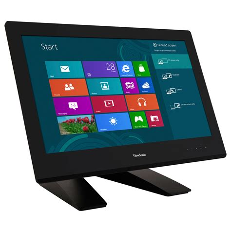 pc bureau ecran tactile viewsonic 23 quot led tactile td2340 ecran pc viewsonic
