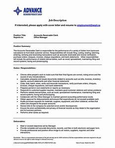 Example Of Resume For College Application Account Receivable Resume Shows Both Technical And