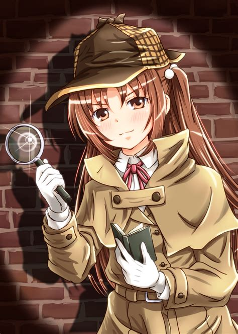 anime with detective and uncategorized secret anime