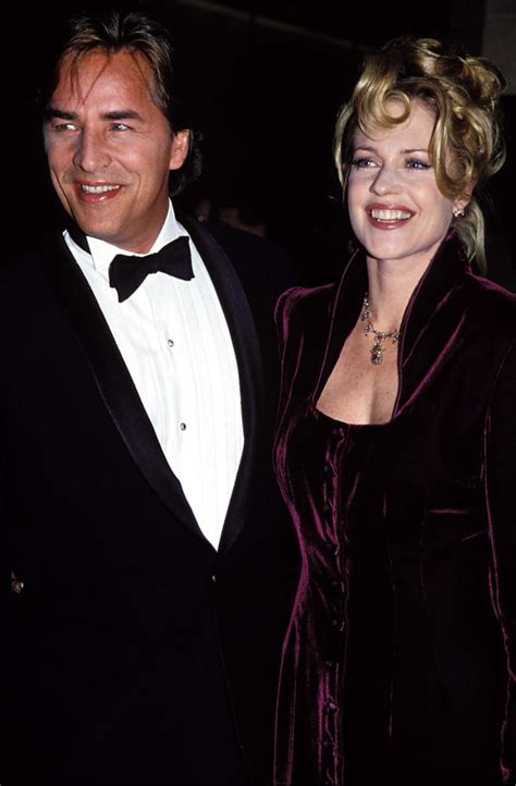 melanie griffith  don johnson celebrities married
