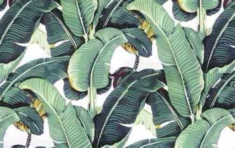 blanche devereauxs bedroom wallpaper banana plant