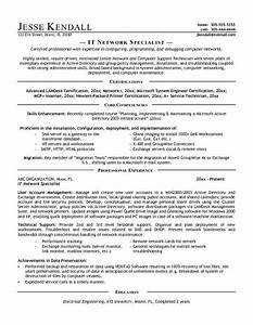 it specialist resume contemporary capture sample example With it specialist cv template