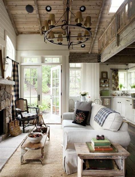 wohnzimmer landhausstil das wohnzimmer gemuetlich