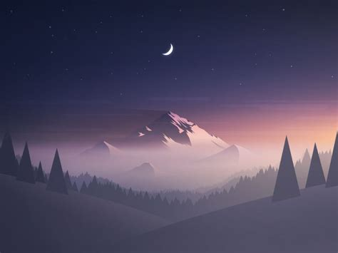 mountain background  mrusta drawings  illustrations