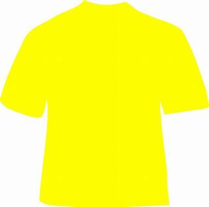 Yellow Shirt Clip Clipart Plain Polo Cliparts