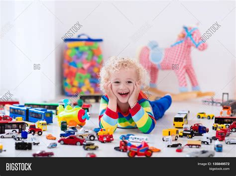 curly toddler boy his image amp photo bigstock 346 | 135849572