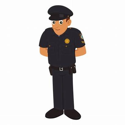 Cartoon Policeman Transparent Profession Svg Funny Stop