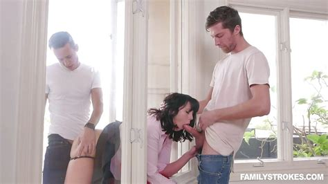 amber chase in gorgeous milf gets fucked by her stepsons