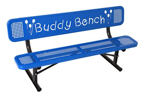 Buddy Bench by Buddy Bench Play Park Structures