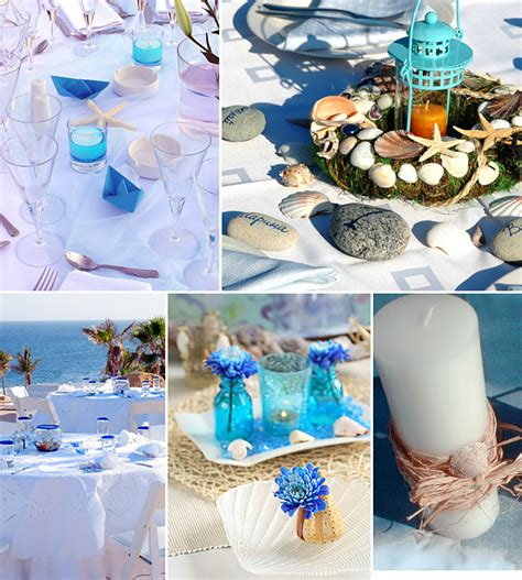 Blue Summer Beach Wedding Decoration Ideaswedwebtalks