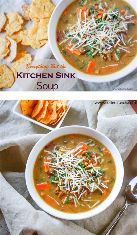 everything but the kitchen sink recipe everything but the kitchen sink soup gluten free 9651