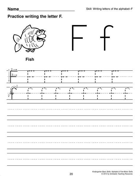 letter f tracing worksheet preschool worksheets crafts