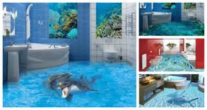 3D epoxy floors let you experience the thrillof going to the toilet in ...