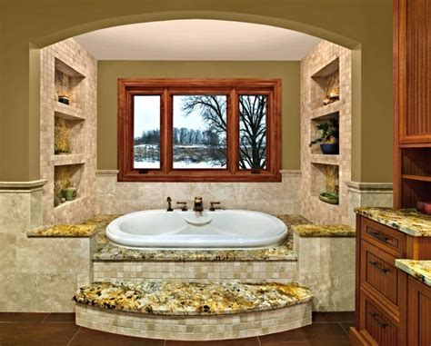 spa  master bathroom design