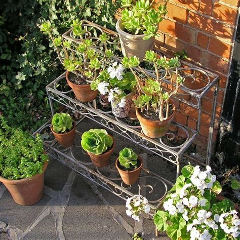 Plant Etagere Outdoor by Aged Metal Etagere The Worm That Turned Revitalising