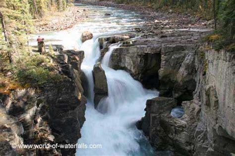 Sunwapta Falls (Jasper National Park, Alberta, Canada)