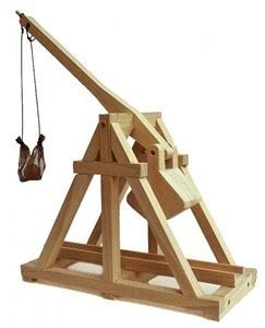 test engineers mini trebuchet build