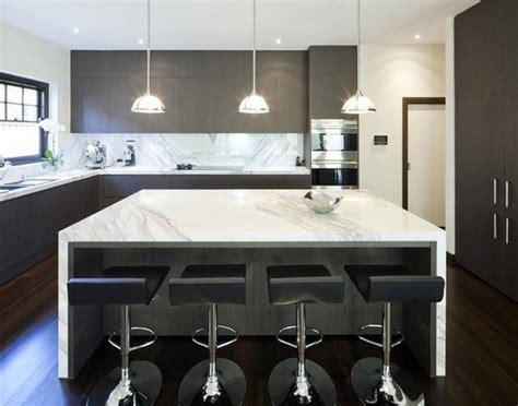 plan de cuisine moderne avec ilot central cuisine avec îlot central modernes deco maison moderne