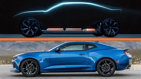 GM Hints at an Electric Chevrolet Camaro | The Drive