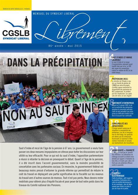 onem bureau librement mai 2015 by aclvb cgslb issuu