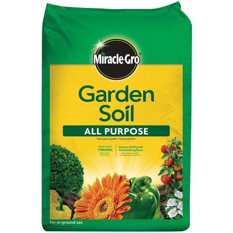miracle gro 0 75 cu ft all purpose garden soil 75030430
