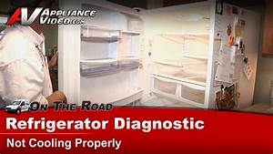 Amana Arb2557lw Refrigerator Diagnostic  U2013 Not Cooling Properly  U2013 Compressor