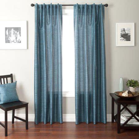cheap curtains walmart softline bergamo back tab and rod pocket curtain panel