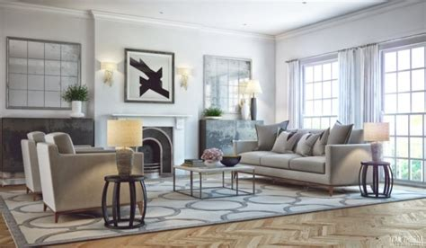 impresionantes  elegantes salas modernas tikinti