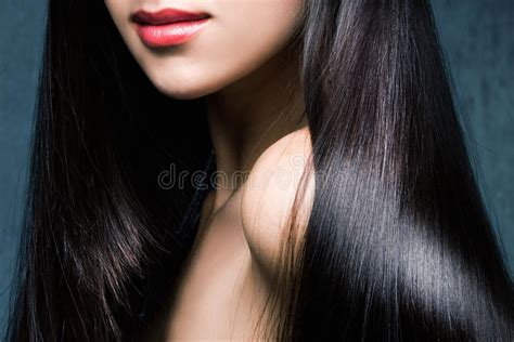 How To Shiny Black Hair by Shiny Black Hair Stock Image Image Of Hairstyle