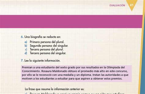 Maybe you would like to learn more about one of these? Libro De Español 6 Grado Contestado Pag 22 - Español ...