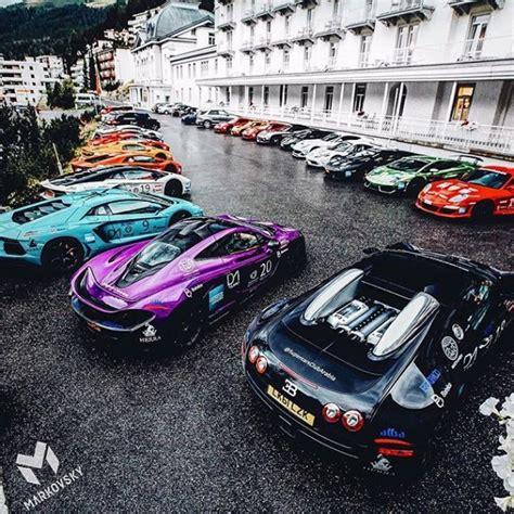 Ferrari Lamborghini Bugatti