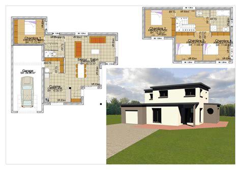plan maison etage 3 chambres gratuit les maisons constructeur de maisons individuelles