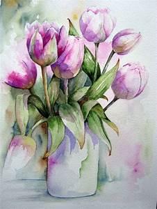 Aquarell Malen Blumen : pin von leonice alves auf pintura pinterest aquarell ~ Articles-book.com Haus und Dekorationen