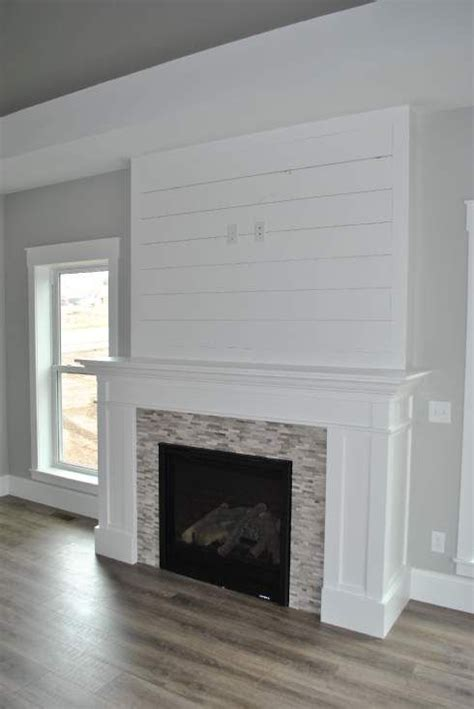 Shiplap Fireplace by 17 Best Ideas About Shiplap Fireplace On