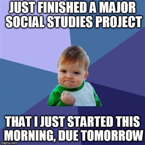 Social Studies Memes - success kid meme imgflip