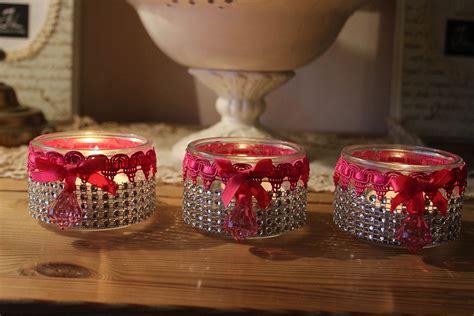 creation avec pot de yaourt photophores girly ou comment recycler des pots de yaourt en verre id 233 es cr 233 ations