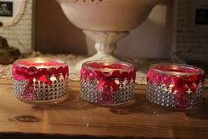 photophores girly ou comment recycler des pots de yaourt With carrelage adhesif salle de bain avec bougie noel led