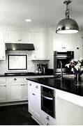 Black White White Kitchen Cabinets To Enhance The Appearance And Style Black And White Kitchen Cabinets With Granite Countertops Apps Designed In Reverse With Pale Kitchen Cabinetry And A Darker Kitchen