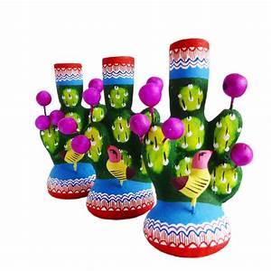 Arbre De Vie Deco : mini arbre de vie cactus d co mexicaine en terre cuite casa frida ~ Dallasstarsshop.com Idées de Décoration