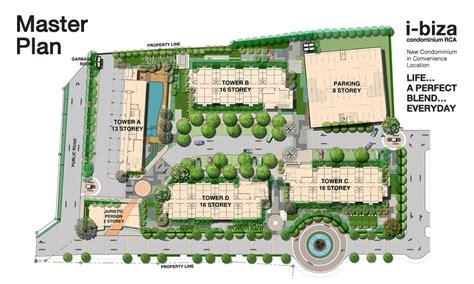 floor plans master plan โครงการ i biza condominium rca