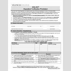 Dependent Verification Worksheet Worksheets For School Roostanama