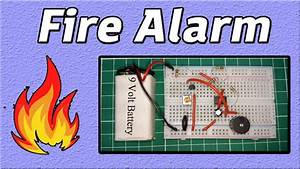 Fire Alarm Circuit Diagram
